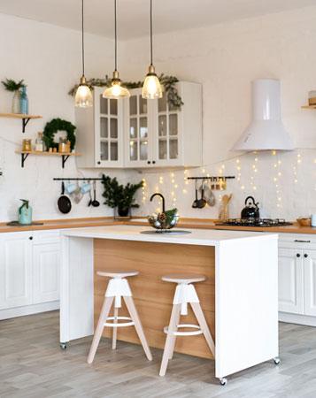 Decoration interieure de cuisine