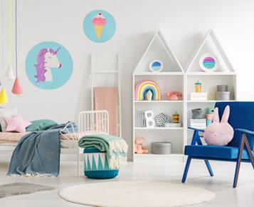 Les chambres des enfants