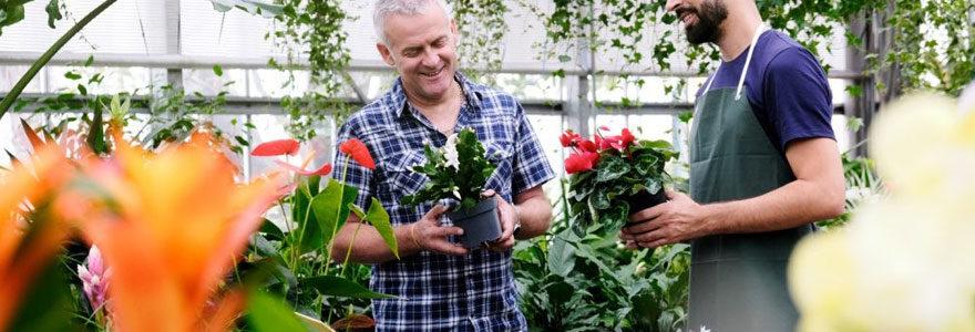 Expert en jardinage