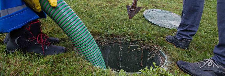 Assainissement de fosse septique